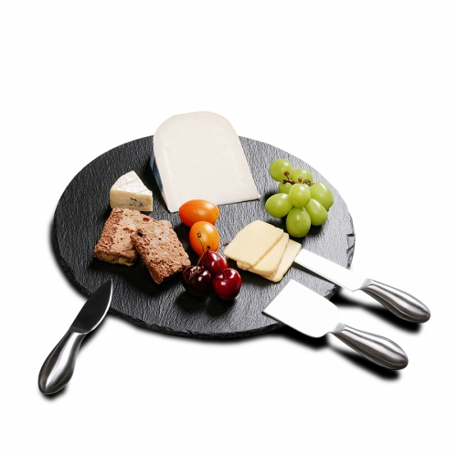 Slate serving board (round)